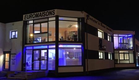 EUROMAISONS vue de nuit
